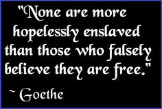 Don't be enslaved