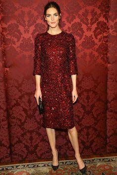 Hillary Rhoda in Dolce & Gabbana