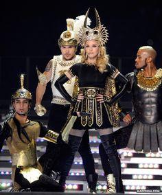 Madonna en el Super Bowl 2012
