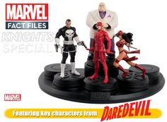Marvel Cosmic & Marvel Knights Mini-series - new magazines/chars from Eaglemoss. Somehow tied with their cosmic series...