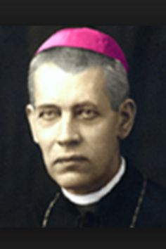 Blessed Bishop Anton Duravici. Martyred by the Communists.
