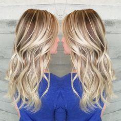 "Alexis Thurston on Instagram: ""Rooty blonde. Love how the depth makes the lighter bits pop. #alexisbutterflyloft"""