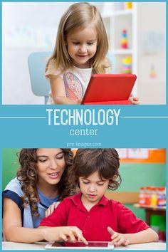 Technology Center in Preschool Pre-K and Kindergarten