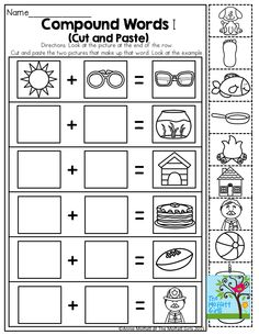 Compound Words Worksheets and Activities Mega Pack | First ...