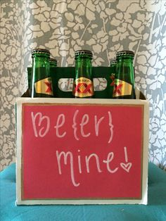DIY valentine's gift for him