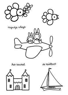 Kleurplaten Nijntje Kunstenaar.61 Beste Afbeeldingen Van Kleurplaten Nijntje Miffy Coloring