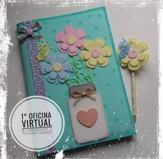 Foam Crafts, Arts And Crafts, Diy Crafts, Ideas Para, Mickey Mouse, Craft Projects, Shabby Chic, Notebook, Scrapbook