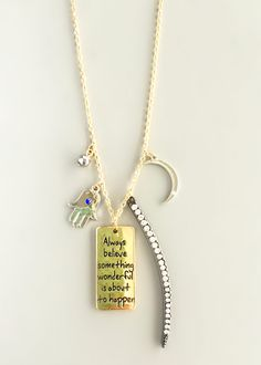 Good Things Charm Necklace – Pree Brulee