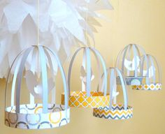 Bird Cage Themed Party Planning, Ideas & Supplies | Baby & Bridal Showers | PartyIdeaPros.com
