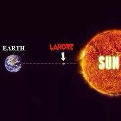 Summers in Punjab, Pakistan