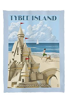Hampton Beach, New Hampshire - Sand Castle - Lantern Press Artwork Giclee Art Print, Gallery Framed, Espresso Wood), Multi Hampton Beach, Pismo Beach, Rehoboth Beach, Newport Beach, Rehoboth Delaware, Fernandina Beach, New Hampshire, Long Beach, New Jersey