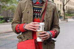 fairisle, chambray, utility jacket