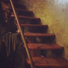 Wooden staircase in Eva Ryynänen studio Wooden Staircases, Scandinavian Design, Finland, Stairs, Studio, Home Decor, Stairway, Decoration Home, Wooden Stairs