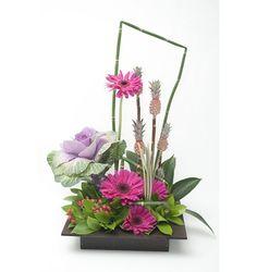 arreglos florales exoticos con gerberas - Buscar con Google                                                                                                                                                      Más