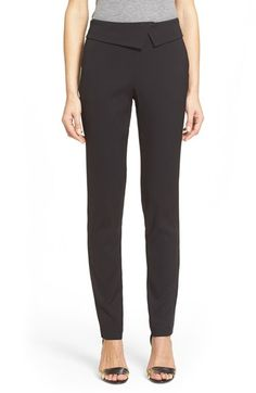 Veronica Beard 'Delray' Foldover Trousers available at #Nordstrom