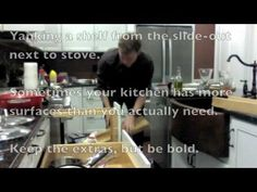 Making your kitchen more efficient isn't that different from hacking your workday—decide what you actually do, and trim the resistance to doing it. Here's how you can upgrade your kitchen with a pen, a few hours, and fairly cheap upgrades. Page Marker, Cabinet Space, Home Economics, Food Tasting, Spice Jars, Kitchen Organization, Organizing, Inspirational Books, Cool Kitchens