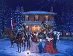Col Turner Ashby with General Thomas Jackson Romney,Western Virginia  John Baker White House  January 14,1862