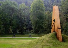 giant wooden clothes peg