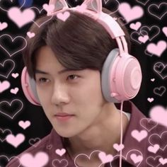Exo, Baekhyun, Sehun Cute, Monsta X Hyungwon, Cute Icons, Aesthetic Iphone Wallpaper, Instagram, Pictures, Life
