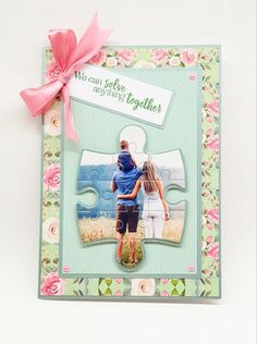 Create unique and personalized keepsake cards and gifts using our fabulous Shaped Jigsaw Dies. Perfect for transforming photos and artwork into jigsaw puzzles. Project by Jacqui Ault Crafters Companion Cards, Jigsaw Puzzles, June, Shapes, Create, Artwork, Unique, Projects, Photos