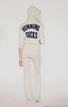 RUNNING SUCKS- WF TRACK SUIT JACKET loveeeee it!♥♥