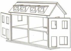 DOLLS HOUSE PLANS SALE DOLL HOUSES PLAN FROM KOSY HOMES