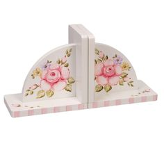 Bookends. Something like this with some pretty decoupage might  make a neat gift.