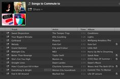 songs to commute to via hellogiggles
