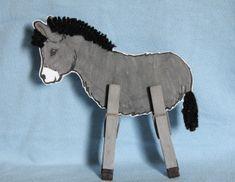 kids bible crafts jesus enters jerusalem | Jesus Rides A Donkey Into Jerusalem This donkey craft helps the kiddos ...