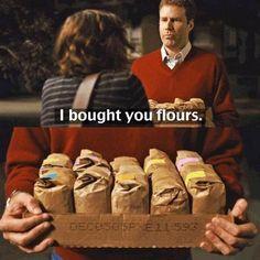 I brought you flours????      #EFL #ESL