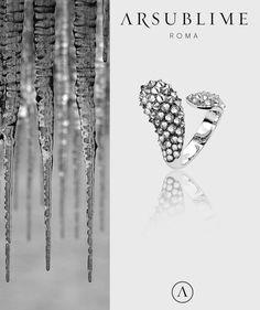 #mood #inspiration #winter #stones #icy #iced #glacial #diamonds #upsidedown #arsublime #fine #jewellery #rome #madeinitaly #handcraft #italian #artisanal #luxury