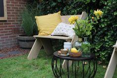 DIY: Eikenhouten stoeltje - Eigen Huis en Tuin