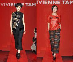 (7) VIVIENNE TAM - Mercedes-Benz Fashion Week Tokyo: Japan Fashion Week: Denim & Jeanswear 2013-2014 Fall Winter Womens Runways I