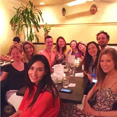 #yogastory Day 9: Some of the group in Santa Barbara decided to grab some sushi!  www.evolationyoga.com  #yoga #love #hotyoga #learn #yogateachertraining #yogapants #yogaeverydamnday #travel #california #santabarbara