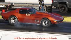 Diesel Powered 1968 Corvette Rolling Coal on Way to 11 Second Pass