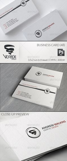 Light Corporate Business Card 48 #GraphicRiver A light business card design, suited for corporate businesses. Simplistic and informative, with a subtle texture in the background. Two PSD files, CS3 or later compatible. Neatly organized layer structure, fully editable. Print ready: 3.5×2 inch | 0.25 bleed | CMYK | 300dpi. Free font used: Open Sans Vortex Design. Impress without saying a word. Created: 13November13 GraphicsFilesIncluded: PhotoshopPSD Layered: Yes MinimumAdobeCSVersion: CS3…