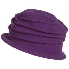 Parkhurst Isabel Wool Cloche Hat - Water Repellent (For Women))