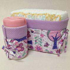 Cláudia Sakamoto: Kit porta fralda e lenço umedecido