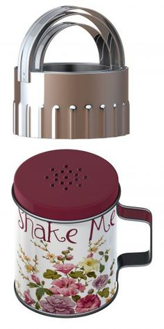 Flour shaker & cutter set designed by KATIE ALICE in the Highland Fling range www.ditsy-daisies.co.uk