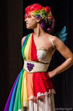 Rainbow Dash Gala Dress