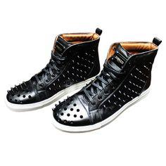 ROOM23: Black Sting Sneakers