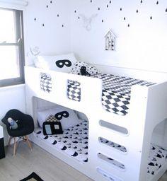 M s de 1000 ideas sobre habitaciones infantiles modernas - Literas infantiles originales ...