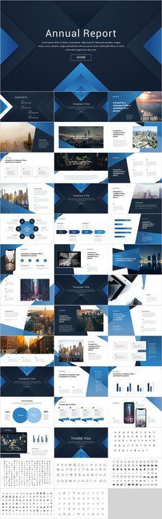 Blue proposal annual report PowerPoint – The highest quality PowerPoint Templates and Keynote Templates download Company Presentation, Marketing Presentation, Corporate Presentation, Corporate Design, Presentation Design, Business Design, Great Powerpoint Presentations, Simple Powerpoint Templates, Professional Powerpoint Templates