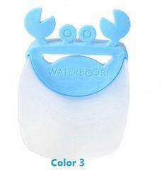 Cute Bathroom Sink Faucet Chute Extender Crab Children Kids Washing Hands 4 colors