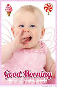51+ Cute Good Morning Baby Images Pictures For Whatsapp
