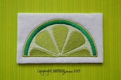 Lime INSTANT DOWNLOAD Embroidery Design for Machine by ARTHURjane, $3.99