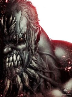 Doomsday The biggest, bad ass villain of all time. He even killed Superman Comic Book Characters, Comic Character, Comic Books Art, Comic Art, Character Design, Comic Book Villains, Superhero Villains, Arte Dc Comics, Drawn Art