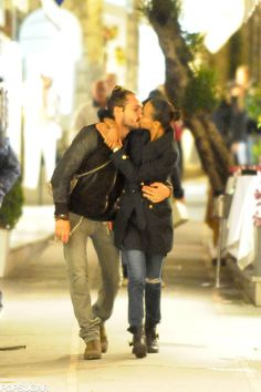 Zoe Saldana and Marco Perego Are So Cute Together, It Actually Hurts: Zoe Saldana recently made headlines when she revealed that her husband, Italian artist Marco Perego, took her last name after they tied the knot in June 2013.