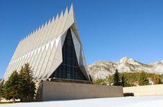 Capela da Academia de cadetes da Força Aérea dos EUA, Colorado