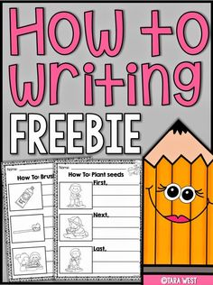 Writing Lessons, Writing Resources, Writing Activities, Writing Ideas, Writing Prompts, Writing Sentences, Listening Activities, English Resources, Sequencing Activities